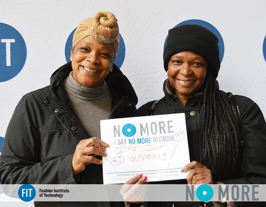 The FIT Community says #NOMORE to Sexual Assault & Relationship Violence