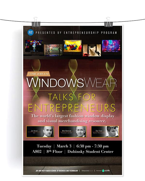WindowsWear: Talks For Entrepreneurs poster