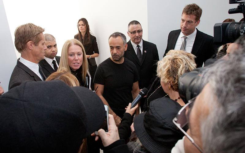 Francisco Costa at an FIT event with coverage by WWD, among others.