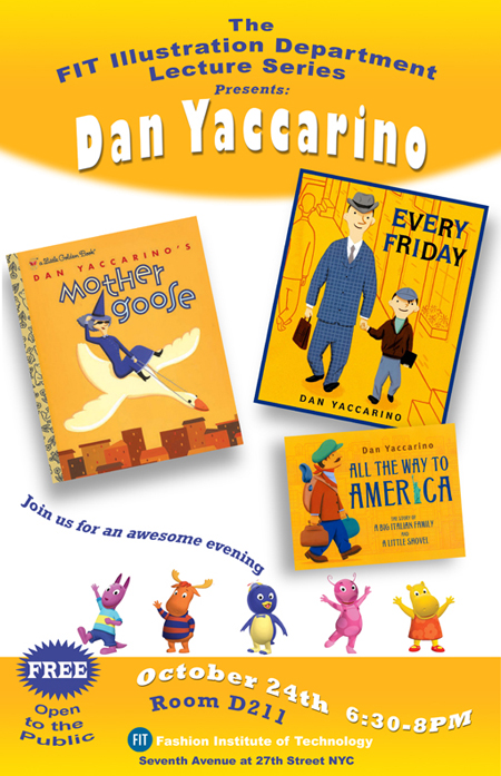 Meet Children's Book Illustrator Dan Yaccarino