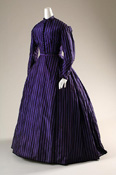 Purple dress from 1860