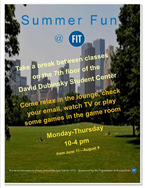 Summer Fun at FIT