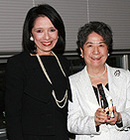 - FIT President Joyce F. Brown and Yoko Ohara