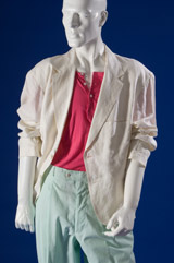 Miami Vice man's suit