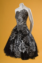 Alexander McQueen evening dress