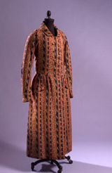 Man's dressing gown, 1845