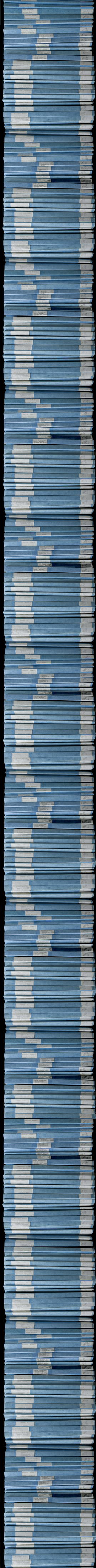 FIT oral histories in slim blue binders