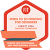 Introduction to 3D Printing for Designers