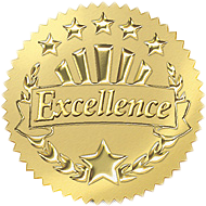Certificate of Excellence badge logo