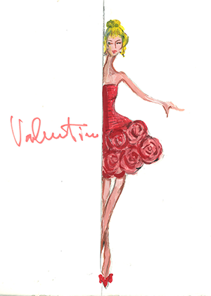 Sketch by Valentino
