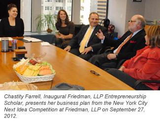 FIT Scholar visits Friedman LLP