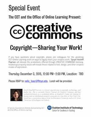 creative commons flyer