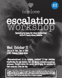 One Love Escalation Workshop at FIT
