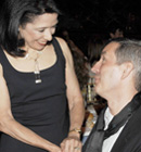 - FIT President Dr. Joyce Brown and Dries van Noten