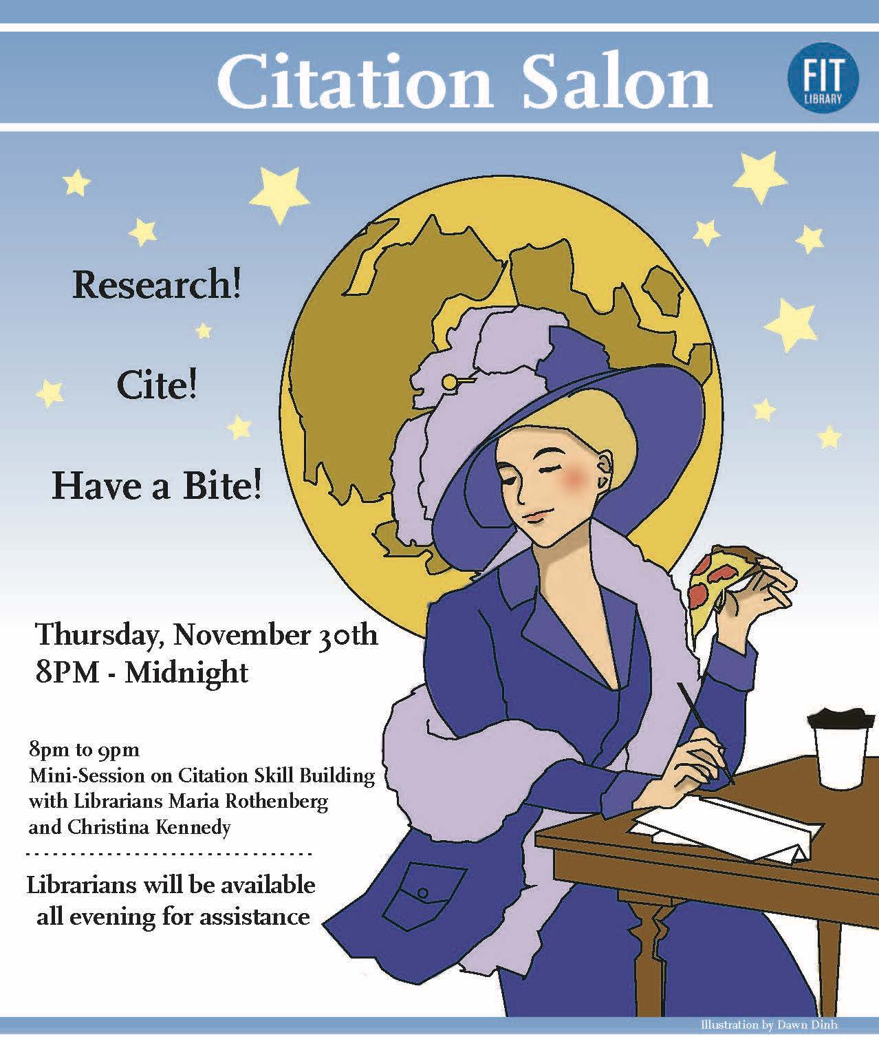poster for citation salon