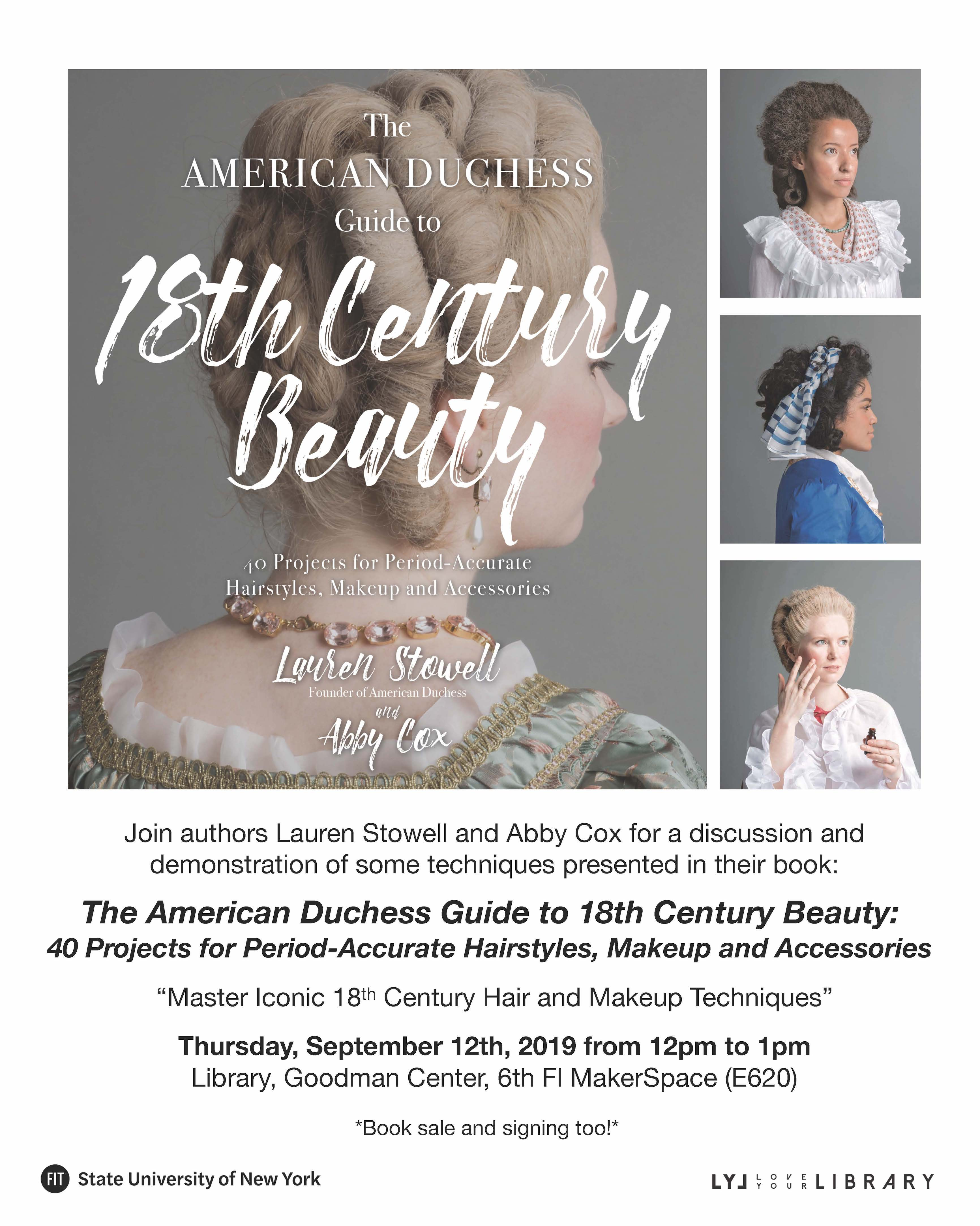 American Duchess Event Poster