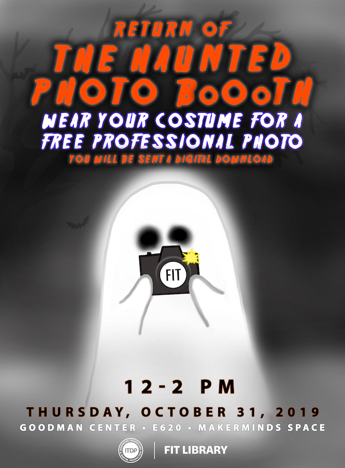 Haunted Photo Booth flyer