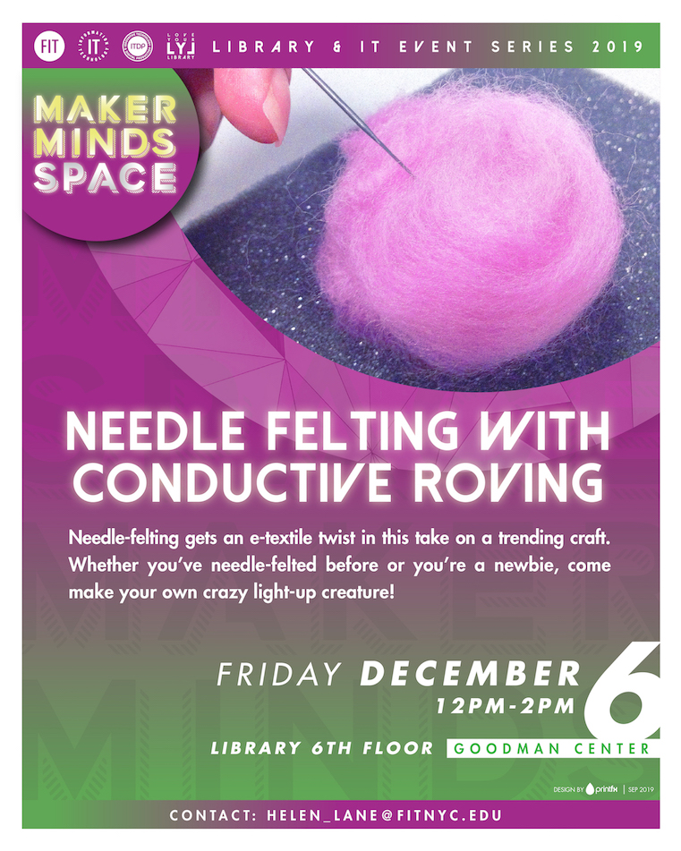 conductive roving flyer