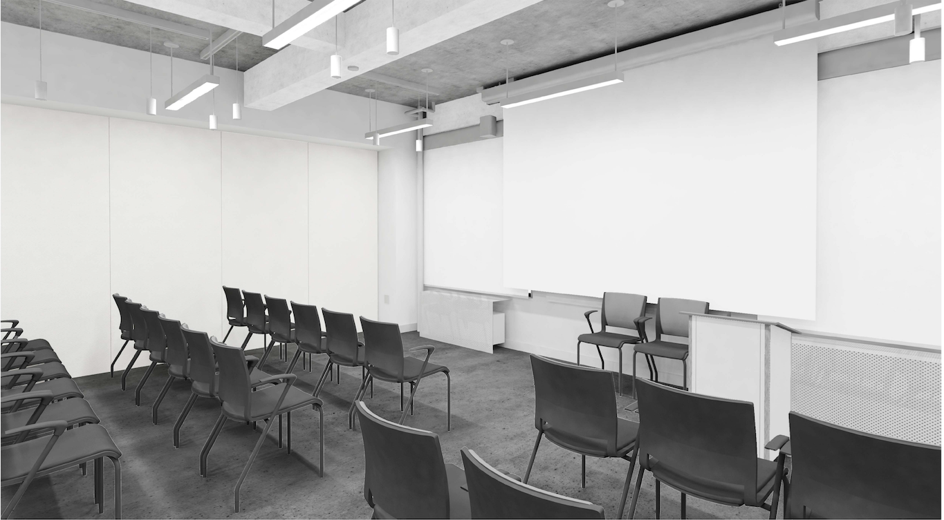 MFA Fashion Design Lecture space