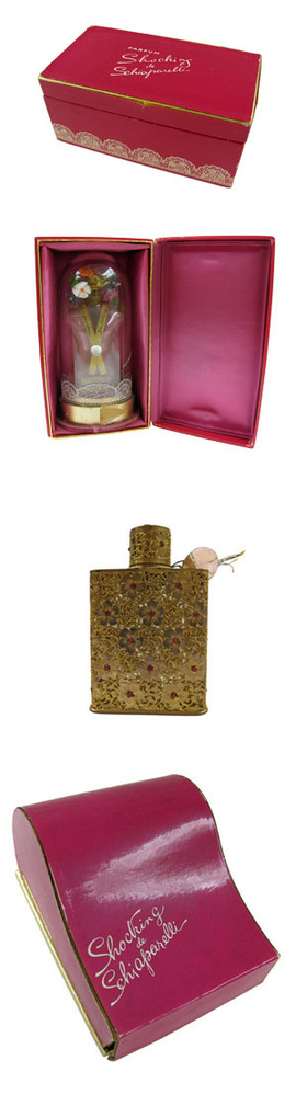 Schiaparelli parfume bottles and packaging