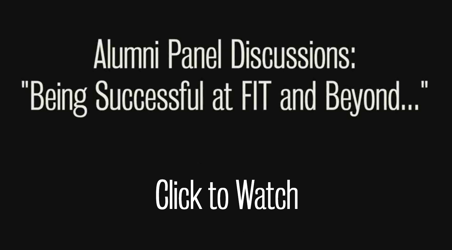 click here for alumni panel discussion videos