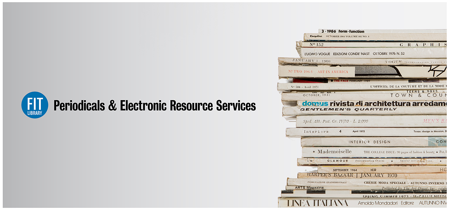 periodicals and electronic research services