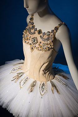 "Barbara Karinska, ""Diamonds"" costume from Jewels, original designed in 1967. Lent by the New York City Ballet. © The Museum at FIT"