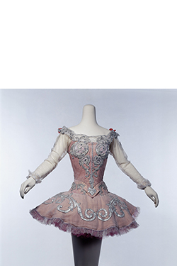 "Oliver Messel, Margot Fonteyn's ""Princess Aurora"" costume from The Sleeping Beauty, 1960s, original designed in 1946. Lent by Victoria and Albert Museum, London. © Victoria and Albert Museum, London"