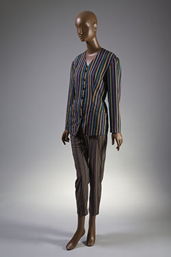 Willi Smith, suit, circa 1984, USA. Gift of the Council of Fashion Designers of America (CFDA). 2013.52.4