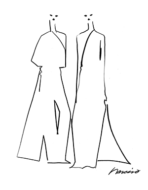Illustration by Narciso Rodriguez