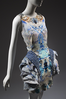 Alexander McQueen, dress, spring/summer 2010, England. Collection of the Honorable Daphne Guinness.