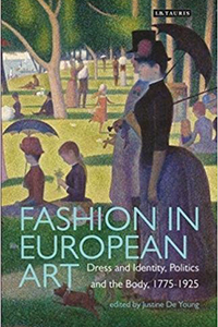 Photo: Cover of Fashion in European Art. Courtesy of IB Tauris