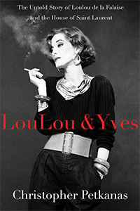 Photo: Cover of Loulou & Yves. Courtesy of St Martin's Press.
