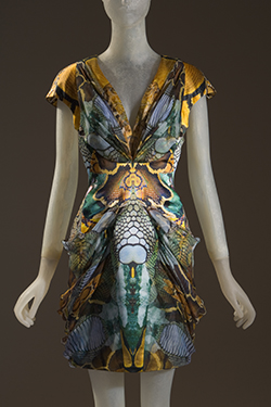 Alexander McQueen, dress, Plato's Atlantis collection, Spring 2010, England, museum purchase. 2010.77.1