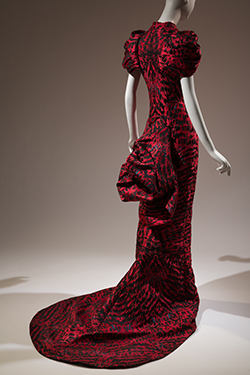 Alexander McQueen, dress, Horn of Plenty collection, Fall 2009, England, museum purchase. 2016.63.1