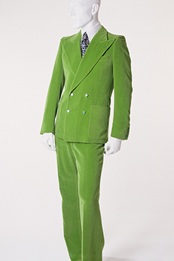 Yves Saint Laurent Rive Gauche, suit, circa 1972, France, Gift of John Karl. 88.170.1