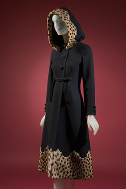 Valentino Couture, coat, 1974, Italy, Gift of Mary Russell. 96.84.1