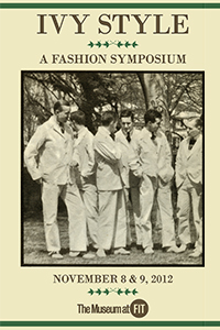 Ivy Style symposium cover