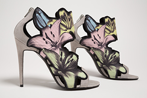 Pierre Hardy shoes with flowers