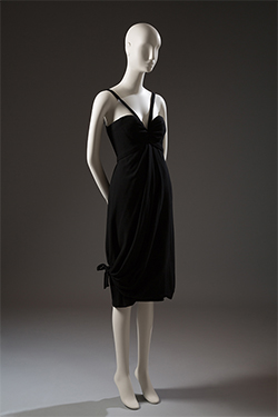 Christian Dior (Yves Saint Laurent), cocktail dress, fall 1959, gift of Robert Renfield. 2003.100.4