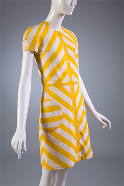 I.D. (Emmanuelle Khanh), dress, 1966, gift of Sandy Horvitz. 77.57.2