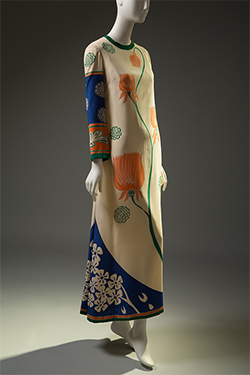 Chloé (Karl Lagerfeld), evening dress, 1967, gift of Melanie Miller. 88.84.1