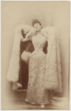 Photograph by Otto, the Countess Greffulhe  in a ball gown, circa 1887.  © Otto/Galliera/Roger-Viollet.