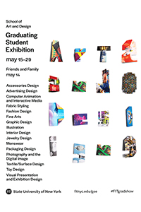 Graduation Student Exhibition Poster