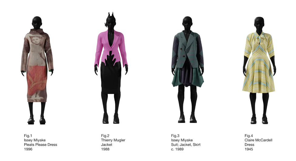MFIT Objects Featured in Virtual Fashion Archive | Fashion Institute of  Technology
