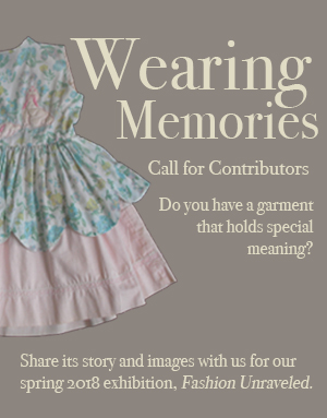 Wearing Memories Call for Contributors